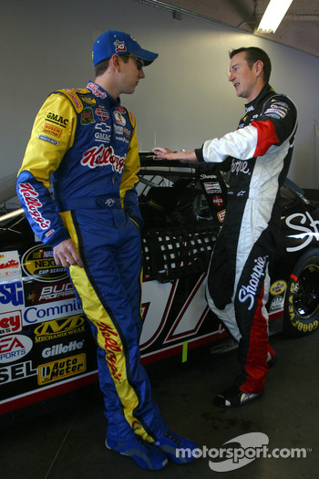 Kyle and Kurt Busch