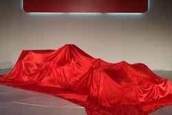 The new Ferrrari F2005 under veil