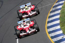 Ricardo Zonta and Ralf Schumacher