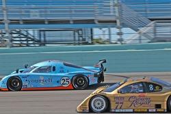 #25 Westernesse Racing Ford Crawford: Dominic Cicero II, Chad McQueen, John Bender, #77 Doran Racing Lexus Doran: Matteo Bobbi, Fabrizio Gollin