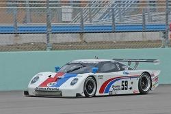 #59 Brumos Racing Porsche Fabcar: JC France, Hurley Haywood