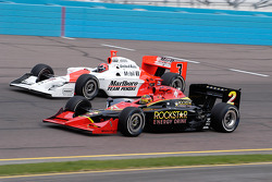 Tomas Enge low, Helio Castroneves high