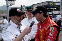 Bryan Herta tells Sullivan all about his pole run
