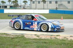 #67 TRG Porsche 911 GT3 RSR: Pierre Ehret, Kevin Buckler