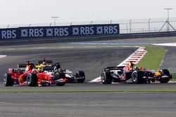 David Coulthard and Rubens Barrichello