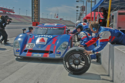 Pitstop for #20 CITGO - Howard - Boss Motorsports Pontiac Crawford: Milka Duno, Paul Edwards, Chris Dyson