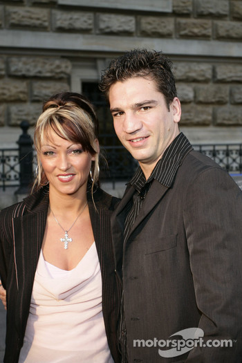 Boxer Markus Beyer and singer Daniela Haak