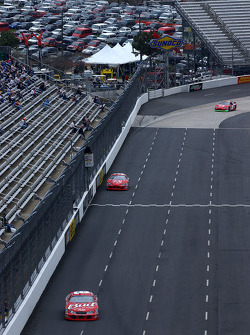 Dale Earnhardt Jr., Kasey Kahne and Jeremy Mayfield