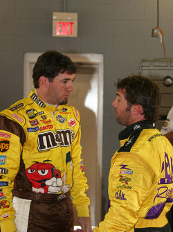 Elliott Sadler and Hermie Sadler