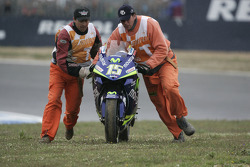 Crash of Sete Gibernau