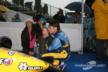Giancarlo Fisichella with guests