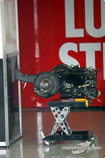 Gearbox of BAR-Honda