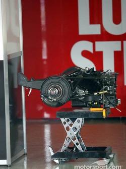 Gearbox of BAR-Honda