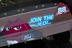 Join the jedi on the rear of the #88