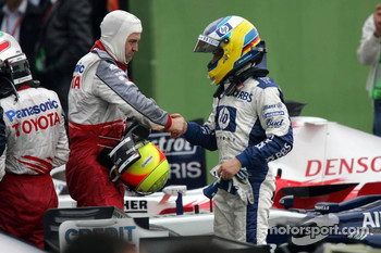 Ralf Schumacher and Nick Heidfeld