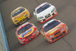 Clint Bowyer, Bobby Hamilton Jr., Kevin Lepage and Travis Kvapil