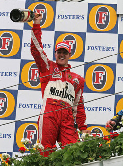 Podium: Michael Schumacher