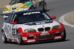 #22 Prototype Technology Group BMW M3: Chris Gleason, Ian James