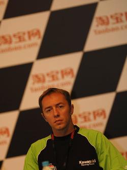 Press conference: Oliver Jacque