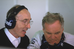 Frank Williams and Patrick Head