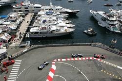 Jarno Trulli, Mark Webber and Nick Heidfeld