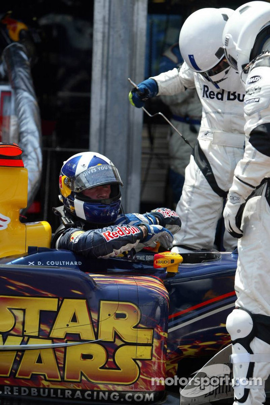 David Coulthard mit Ausfall