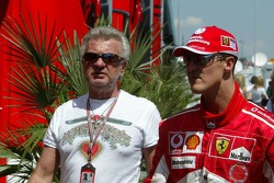 Willi Webber and Michael Schumacher