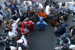 Interviews for Rubens Barrichello and Felipe Massa
