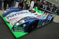 Sébastien Loeb takes off