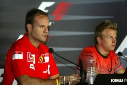 Thursday FIA press conference: Rubens Barrichello and Kimi Raikkonen