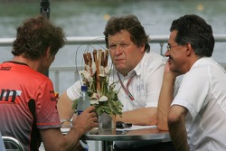 Mario Illien, Norbert Haug and Dr Mario Theissen