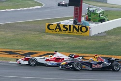 Ralf Schumacher and David Coulthard