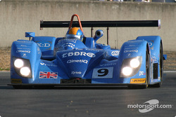 #9 Team Jota-Zytek Engineering Zytek 04S: Sam Hignett, John Robert Stack, Haruki Kurosawa