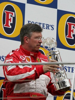 Podium: Ross Brawn