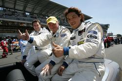 Xavier Pompidou, Jean-Luc Blanchemain and Yutaka Yamagishi