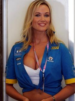 A Renault F1 fan