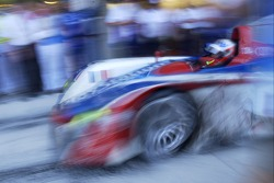 Pitstop for #4 Audi Playstation Team Oreca Audi R8: Franck Montagny, Jean-Marc Gounon, Stéphane Ortelli