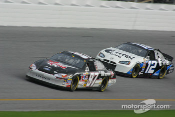 Kurt Busch and Ryan Newman