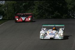#2 Champion Racing Audi R8: Frank Biela, Emmanuele Pirro, #10 Miracle Motorsports Courage C-65 AER: John Macaluso, Chris McMurry, Jeff Bucknum