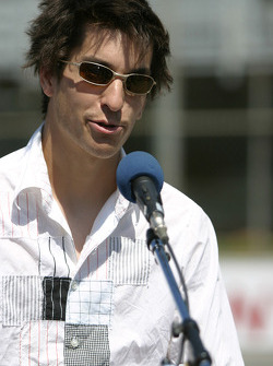 Molson Indy 2005 media event: Atlantic series driver Antoine Bessette