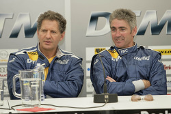 Jody Scheckter and Mick Doohan