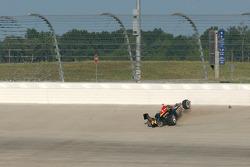 Tomas Enge crashes