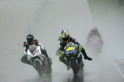 Kenny Roberts and Valentino Rossi