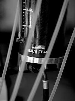 Detail of the BAR Honda team equipment