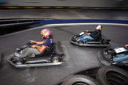 Red Bull Petit Prix in Manheim: Vitantonio Liuzzi and Christian Klien