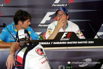 Thursday FIA press conference: Giancarlo Fisichella and Jacques Villeneuve