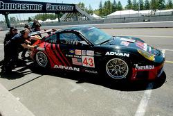 #43 BAM! Porsche 911 GT3 RSR: Wolf Henzler, Martin Jensen