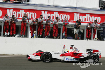 Third place finish for Ralf Schumacher