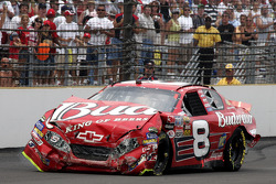Dale Earnhardt Jr. after his crash