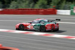 #12 Larbre Competition Ferrari 550 Maranello: Lilian Bryner, Enzo Calderari, Steve Zacchia, Frédéric Bouvy